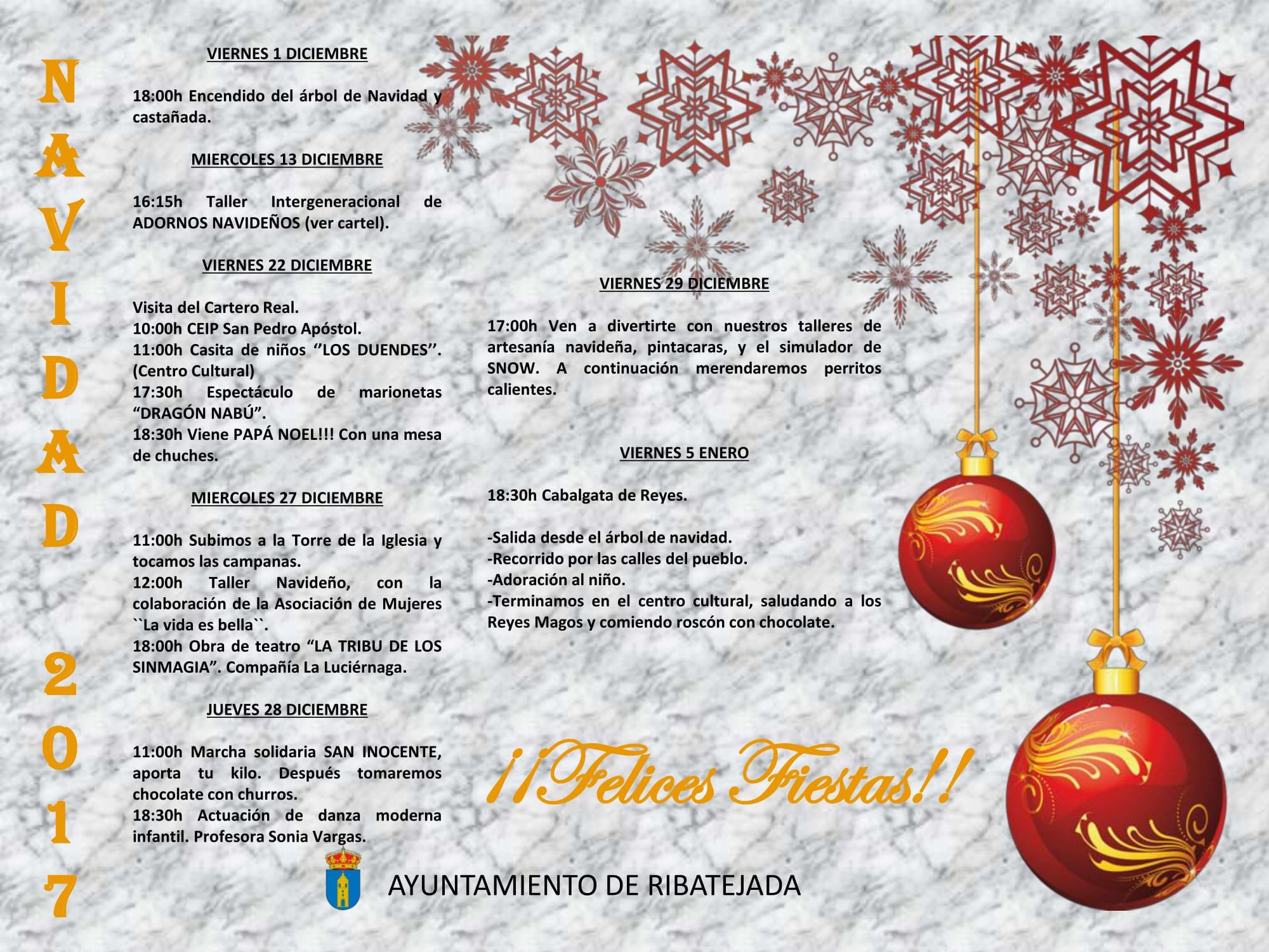 Cartel Navidades 2017